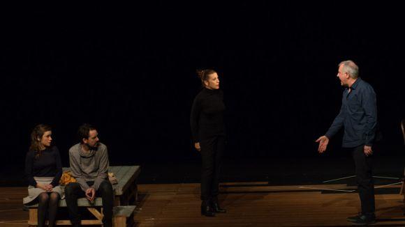 La reflexió sobre el món de la interpretació d''Infàmia' omple el Teatre-Auditori