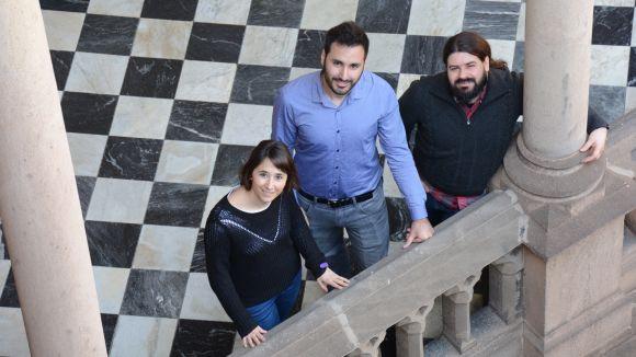Els investigadors implicats en l'estudi / Foto: UB