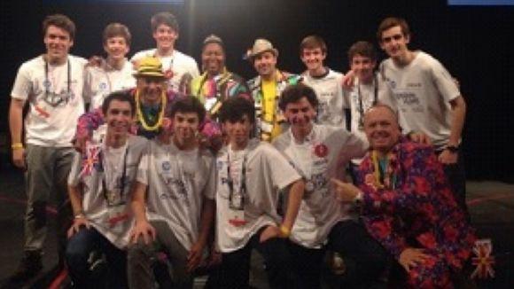 L'equip del Viaró durant la competició / Foto: Ypsilon Viaró