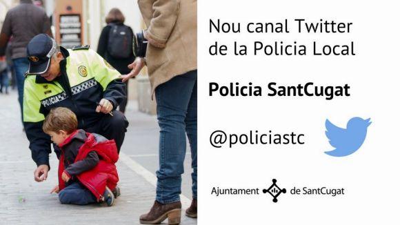 La Policia Local estrena Twitter i engega una campanya per controlar l'ús del casc