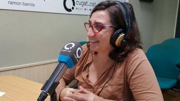 Eva Tataret, nova presidenta d'AFA de Sant Cugat en substitució de Carme Roca