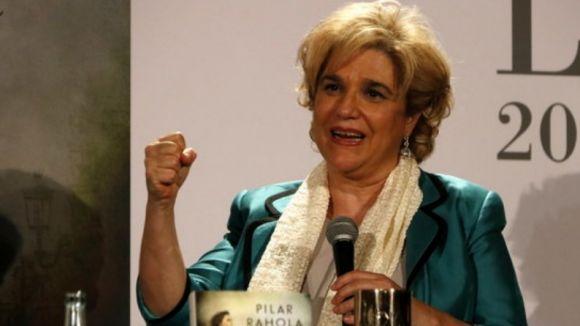 Pilar Rahola és l'actual premi Ramon Llull de literatura / Foto: ACN