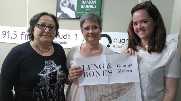 D'esquerra a dreta, Carme Reverte, Gemma Molera i Helena Minuesa