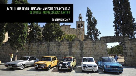 Els cotxes clàssics i antics es tornen a reunir el 21 de maig en el 6è Ral·li Mas Gener-Monestir
