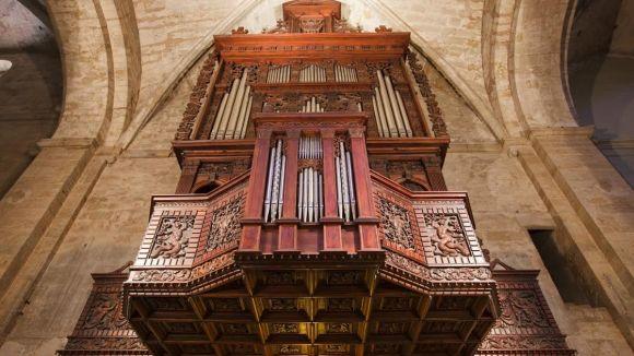 Orgue de l'església del Monestir / Foto: Ajuntament Sant Cugat