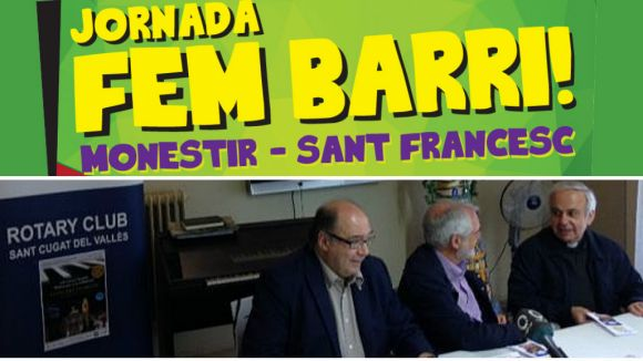 Cartell de la jornada 'Fem Barri' i acte de presentació del 10è concert 'Música per la solidaritat'
