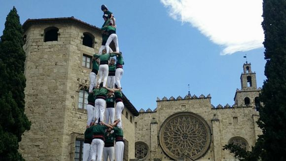 El 4 de 8 serà un dels castells que els Castellers de Sant Cugat portaran a plaça
