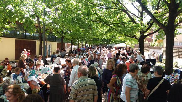 Una Diada de la Puntaire multitudinària i 'viva' reuneix a Sant Cugat més de 3.000 persones