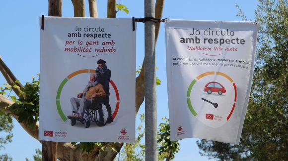 Valldoreix engega una campanya per promoure una conducció respectuosa