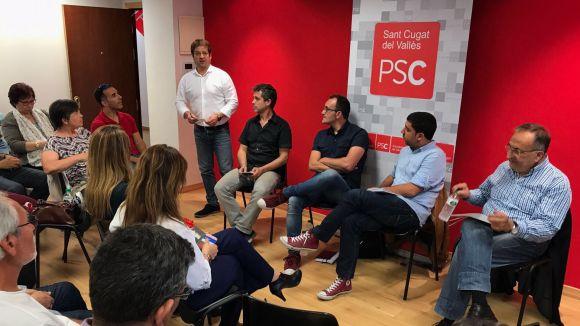 120 militants santcugatencs del PSC, cridats a votar aquest diumenge a les primàries del PSOE
