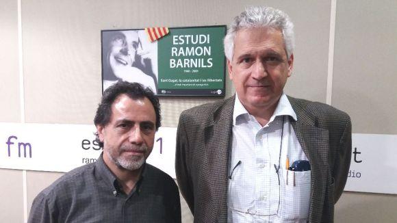 D'esquerra a dreta, Isidre Marías i Òscar Costa