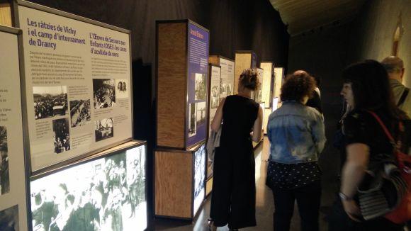 El caràcter acollidor de Catalunya, de manifest a la mostra del Museu 'Fugint de l'Holocaust'