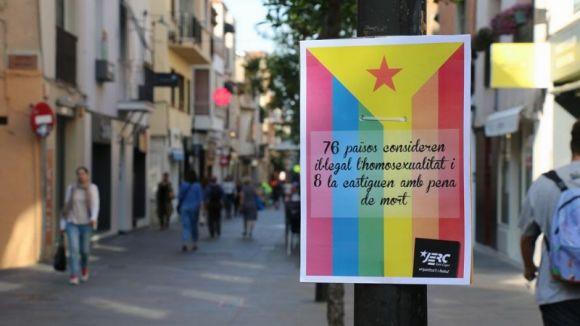 ERC-MES i les JERC critiquen el govern local per la manca d'accions contra la LGTBIfòbia