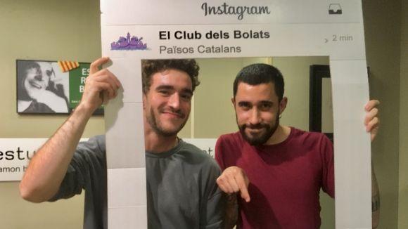 Els membres del grup Idea Música visiten 'El Club dels Bolats'