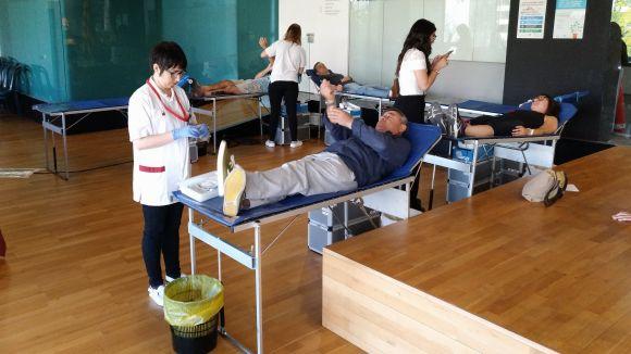 Jornada de donació de sang avui a les instal·lacions de Creu Roja de Sant Cugat