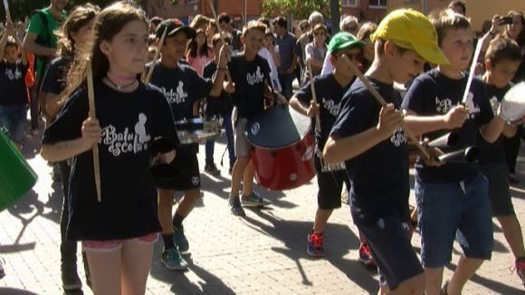 La Festa de la Percussió fa vibrar Sant Cugat amb els ritmes infantils