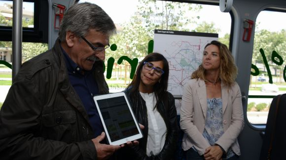 Sant Cugat estrena un sistema de recàrrega en línia de títols de transport