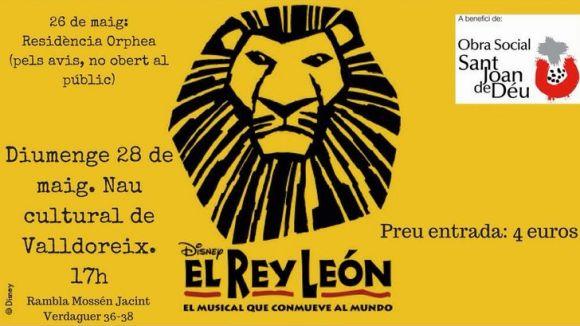 Musical solidari: 'El Rei Lleó'