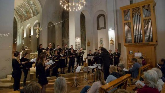 PAX-Cor de Cambra presenten 'Bach-Mendelsshon' al Monestir / Foto: Facebook PAX-Cor de Cambra