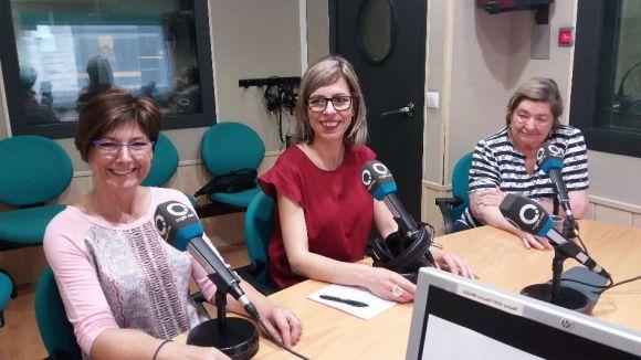 D'esquerra a dreta, Inma Serrabogunyà, Anna Ribas i Maria Sansa