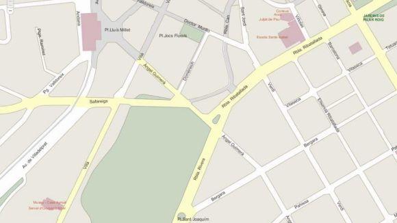 Afectacions al trànsit a diversos punts de la ciutat entre avui i dimarts de la setmana que ve