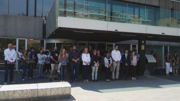 Sant Cugat fa un minut de silenci en memòria de les víctimes de l'atemptat de Kabul