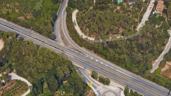 Un valldoreixenc mor en un accident de moto a la carretera de Vallvidrera