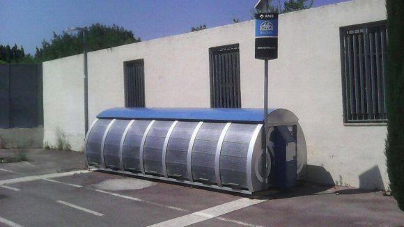 El mòdul de Bicibox de la plaça de Victòria dels Àngels no estarà operatiu aquest dijous