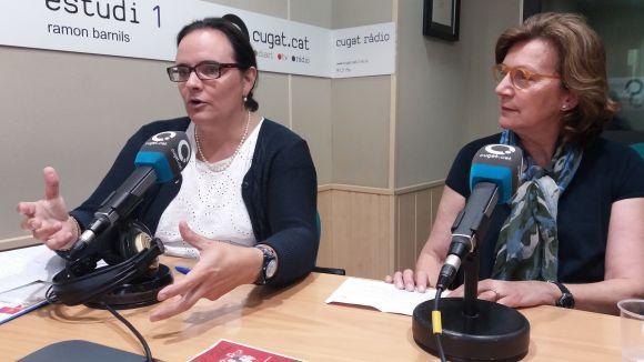 D'esquerra a dreta, Angi Prats i Conce Peyra