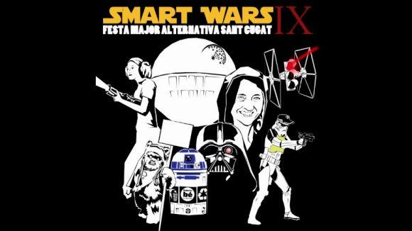 Imatge del cartell d'enguany en què es parodia 'Star Wars' / Foto: FMA