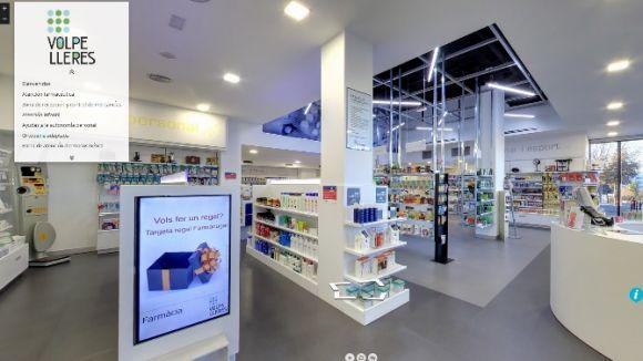 Imatge de l'aplicació web / Foto: Farmàcia Volpelleres