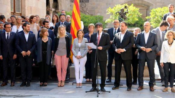 Els grups municipals de Sant Cugat es posicionen davant el referèndum de l'1 d'octubre