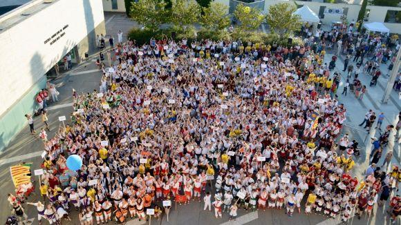 La gran ballada ha tingut lloc a la plaça de Victòria dels Àngels / Foto: Localpres