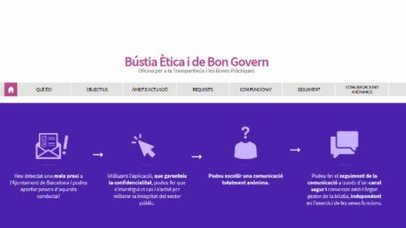 La CUP-PC proposa la creació d'una bústia ètica anònima per denunciar la corrupció i les males praxis