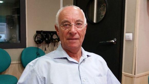 Joan Castañé, l'actual propietari de Cal Caballu