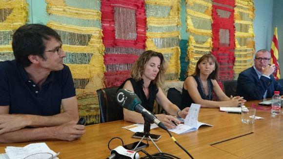 Roda de premsa de presentació de la iniciativa / Foto: Premsa Sant Cugat