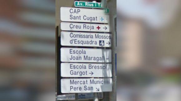 Stop del ple a la proposta del PP i Cs per traduir els senyals de trànsit al castellà