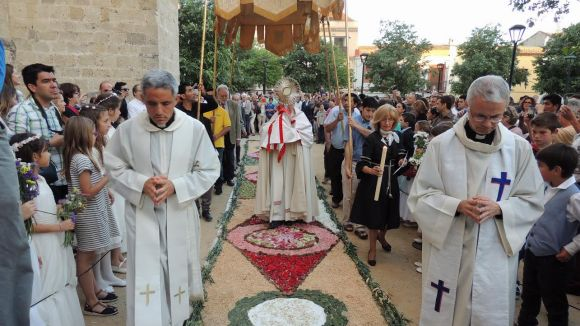 Processó de l'any passat / Foto: Parròquia de Sant Pere d'Octavià