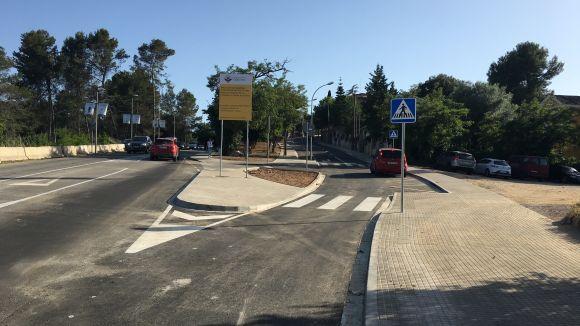 Enllestida la remodelació de l'avinguda de Mas Fuster de Valldoreix