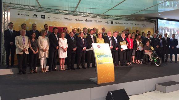 Sant Cugat recull quatre guardons en la 40a edició dels Premis Cambra