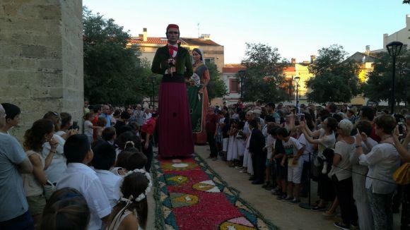 Més d'un miler de persones consolida el Corpus Christi a Sant Cugat