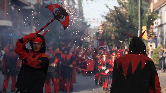 La pluja cancel·la l'inici de l'Encabronada, però els Diables prometen 'més foc' aquest dissabte