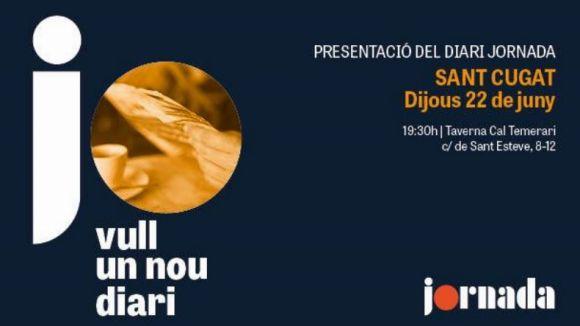 Cartell de la presentació / Foto: Jornada