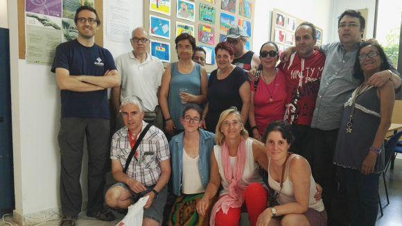 El grup de pintura de l'Espai de Lleure de l'Ateneu, satisfet amb el treball del curs
