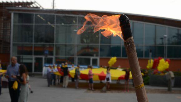 Imatge d'arxiu de la flama del Canigó / Foto: Localpres