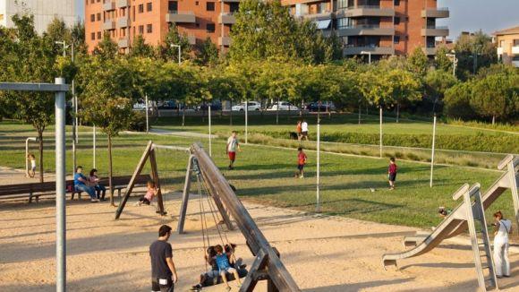 El parc del Turó de Can Mates tindrà un pla específic de mesures contra l'incivisme