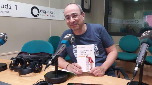Juanjo Fernández, amb el seu llibre