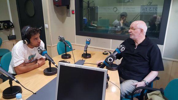 D'esquerra a dreta: Àlex Masana i Josep Maria Planas