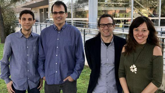 Alguns dels impulsors de la iniciativa / Foto: Sci2