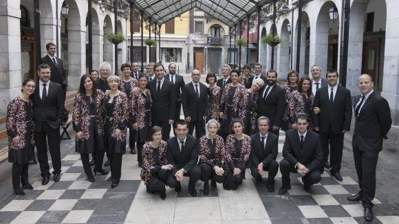 El Simposi Mundial de Música Coral fa parada a Sant Cugat avui amb l'actuació de Kup Taldea